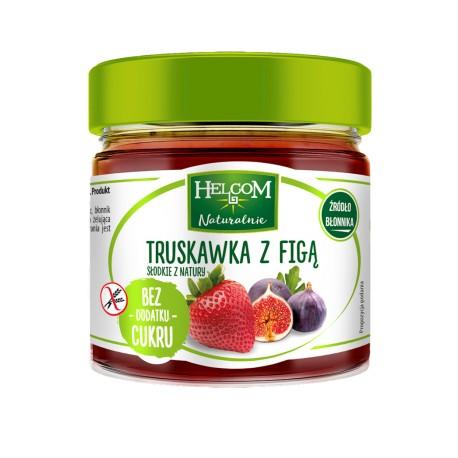 Truskawka z figą- pasta owocowa 200 g HELCOM
