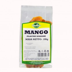 Mango suszone plastry 100g Smakosz