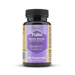 Pharmovit Tulsi - święta bazylia , ekstrakt 10:1 , 200mg  x 60 kapsułek