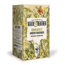Herbata ekologiczna Green Rooibos Heath & Heather 30 g (20 saszetek)
