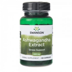 Swanson Ashwagandha Extract 450mg x 60 kapsułek