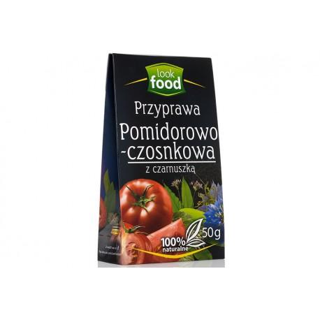 PRZYPRAWA POMIDOROWO-CZOSNKOWA Z CZARNUSZKĄ 50g LOOK FOOD