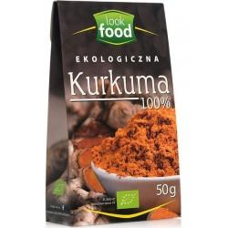 PRZYPRAWA EKOLOGICZNA KURKUMA 100 % LOOK FOOD