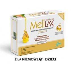 MELILAX PEDIATRIC Mikrowlewka 6 poj. Aboca