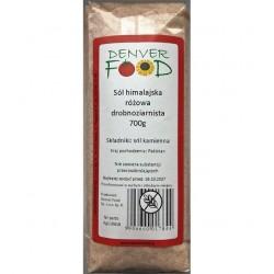 Sól himalajska różowa drobnoziarnista 700g DENVER FOOD