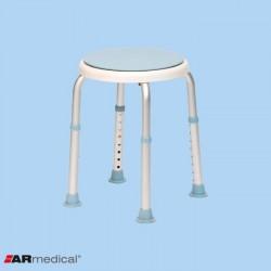 Taboret prysznicowy okrągły – obrotowy AR-201A ARmedical
