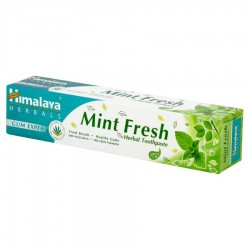 Himalaya Pasta do zębów ODŚWIEŻAJĄCA MINT FRESH bez fluoru 75ml