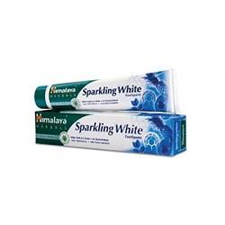 Himalaya Pasta do zębów Sparkling White WYBIELAJĄCA bez fluoru 75ml