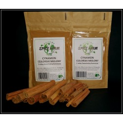 Cynamon cajloński mielony 100g Spice Farm
