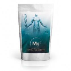 Regenerująca kąpiel magnezowa do kąpieli - PŁATKI MAGNEZOWE Mg12 ODNOWA 1kg