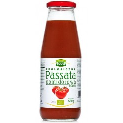 PASSATA POMIDOROWA EKOLOGICZNA SOS 680g LOOK FOOD