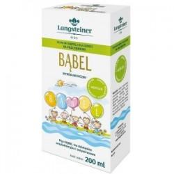 BĄBEL płyn do kąpieli na przeziębienie dla dzieci 200 ml Langsteiner