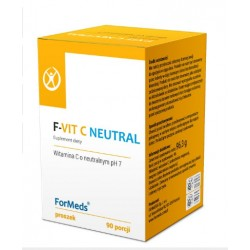 F-VIT C NEUTRAL WITAMINA C O NEUTRALNYM pH 1000mg x 90 porcji FORMEDS