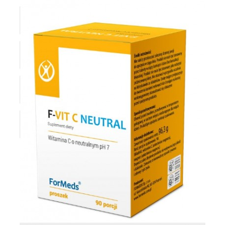 F-VIT C NEUTRAL WITAMINA C O NEUTRALNYM pH 1000mg x 90 porcji