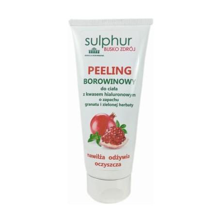 Peeling borowinowy do ciała z kwasem hialuronowym 200g Sulphur Busko Zdrój