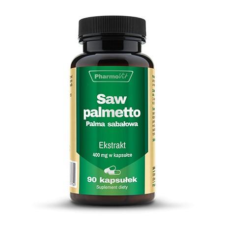 Pharmovit Saw palmetto Palma sabałowa x 90 kapsułek