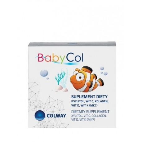BABYCOL KSYLITOL+WIT.C+D3+K2+KOLAGEN COLWAY 60 tabl.