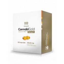 Olejek CBD CannabiGold Smart x 30 kaps. - Hempoland