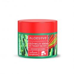 ALOESOVE Odżywczy krem do twarzy na noc 50 ml Sylveco