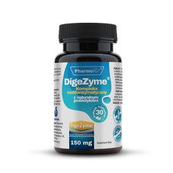 Pharmovit DigeZyme® Kompleks multienzymatyczny 150mg x 30 kapsułek