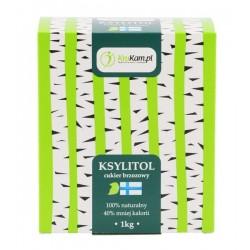 Ksylitol cukier brzozowy 1 kg  FIŃSKI KruKam