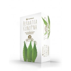 Herbatka konopna 20 sasz. x 2g - Hempoland