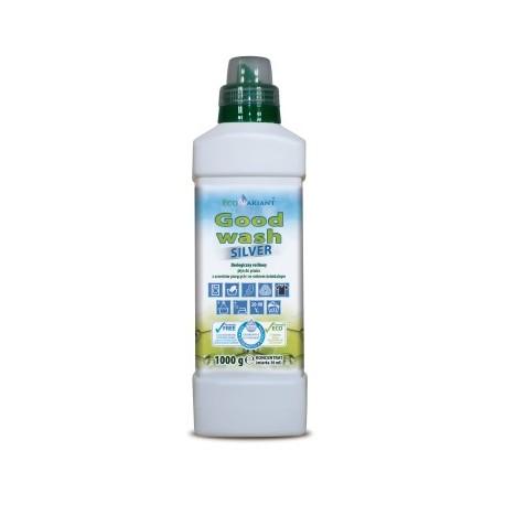 Ekologiczny roślinny płyn do prania z orzechów piorących ze srebrem koloidalnym Good wash SILVER 1kg EcoVariant