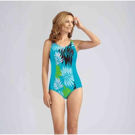 Bermuda strój kąpielowy jednoczęściowy dla amazonek Amoena r.38 D