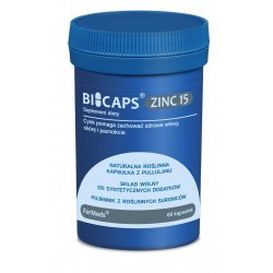 BICAPS ZINC 15 x 60 kaps. FORMEDS