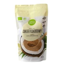 CUKIER KOKOSOWY BIO Z NEKTARU KWIATU PALMY KOKOSOWEJ 500g Coco Farm