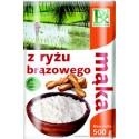 Mąka z ryżu brązowego RADIX 500g