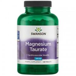 Swanson Taurynian Magnezu 100mg 120 tabletek