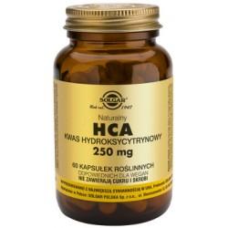 Solgar HCA Naturalny Kwas Hydroksycytrynowy x 60 kapsułek roślinnych