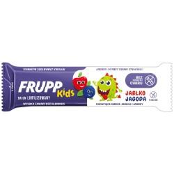 FRUPP KIDS Jabłko Jagoda zdrowy baton liofilizowany 10 g