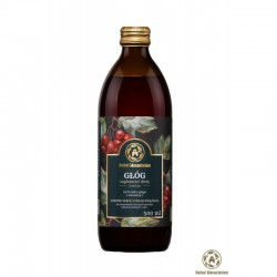Głóg Sok 100% z witaminą C 500ml HERBAL MONASTERIUM