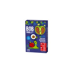 Bob Snail Ślimak Bob Przekąska owocowa Jabłko - Borówka 60g