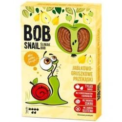 Bob Snail Ślimak Bob Przekąska owocowa Jabłko - Gruszka 60g