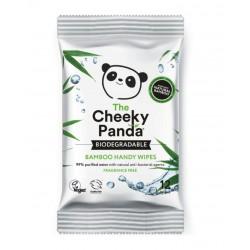 Nawilżane chusteczki bambusowe podręczne x 12 szt. The Cheeky Panda