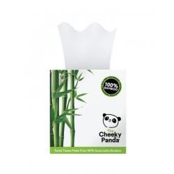 Bambusowe chusteczki uniwersalne pudełko kostka (56 chusteczek) The Cheeky Panda