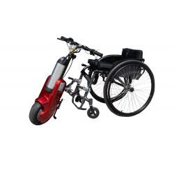 STREET WARRIOR Q1-10 Dostawka elektryczna do wózka inwalidzkiego o napędzie ręcznym Vitea Care