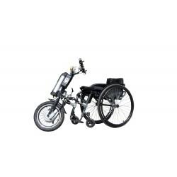 STREET WARRIOR Q2-16 Dostawka elektryczna do wózka inwalidzkiego o napędzie ręcznym Vitea Care
