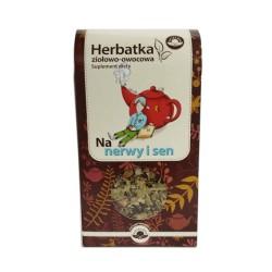 Herbatka Ziołowo - Owocowa Na Nerwy i Sen 75g Natura Wita
