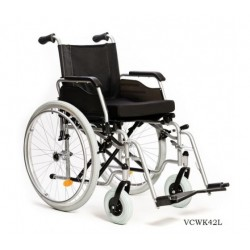 Wózek inwalidzki ręczny FORTE PLUS VITEA CARE VCWK42L