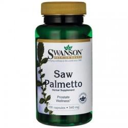 Swanson Saw Palmetto (Palma sabałowa) 540mg  x 100 kaps.