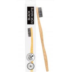 Bambusowa Szczoteczka Do Zębów z Aktywnym Węglem dla dzieci i dorosłych 1 szt.