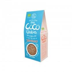 BIO Ciastka Kokosowe Raw z truskawką 90g Diet-Food