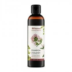 FITOMED Szampon do włosów Herbata i Henna - Odcienie Ciemne 250ml
