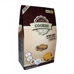 Ciastka Szarotka z kremem śmietankowo - czekoladowym Bezglutenowe Bez dodatku cukru 120g - Biamar