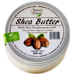 Masło Shea Nierafinowane 100g Natur Planet