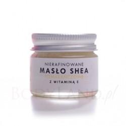 Masło Shea Nierafinowane Pomarańczowe z witaminą E 20 ml Natur Planet